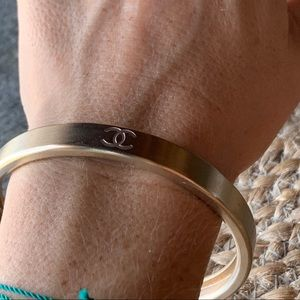 CHANEL Jewelry - Authentic Chanel Bracelet with slight golden tone